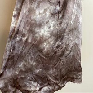 ATM Anthony Thomas Melillo Dresses - ATM Tie Dye Silk Slip Dress in Mushroom XL